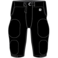 Lincoln Youth Football 25: Adult-Size - D1 Sports Adult Integrated Football Pants - Practice