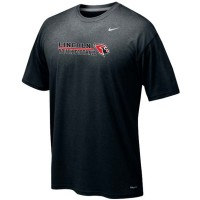 Lincoln Youth Football 10: Adult-Size - Nike Team Legend Short-Sleeve Crew T-Shirt - Black