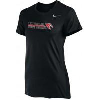 Lincoln Youth Football 12: Nike Women's Legend Short-Sleeve Training Top - Black
